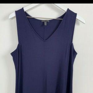 Eileen Fisher jersey a line dress XL